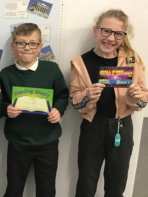 Reading and Star of the Week Awards