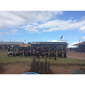 Local School Zulu Dancing - 24th March 2015