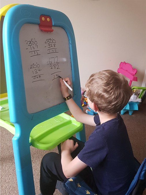 Enjoying Maths at home