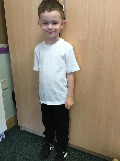 A big well done to Joshua for getting Star of the Week.