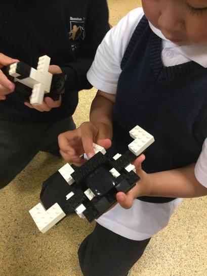 Lego building - symmetry