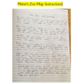 Matei's Zoo Instructions. Page 1
