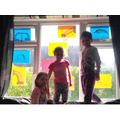 Destiny filled her window with her siblings