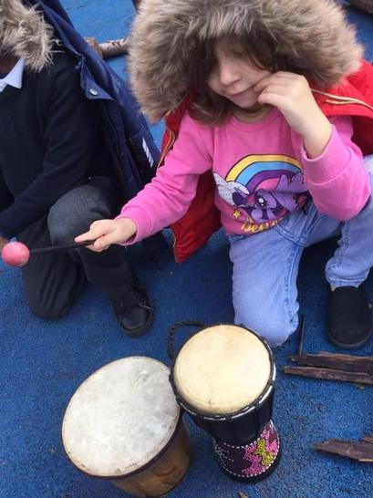 Drumming to the beat