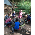 We learnt how to make fire (safely!)