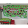 Mrs Keeling has created a fantastic display!