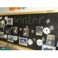 We have been learning all about winter time.