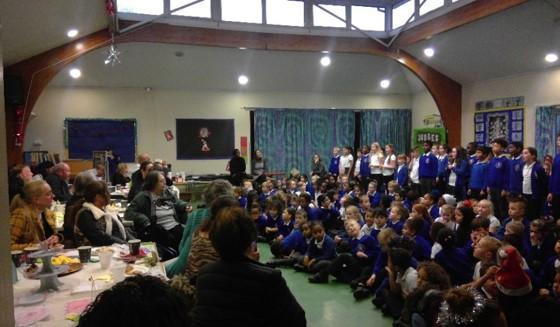 Grandparents Afternoon Tea organised by Year 6
