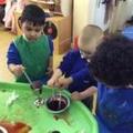 Science in play in Nursery