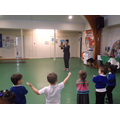 Learning an Indian dance