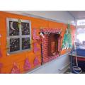 When Santa got stuck up the chimney!