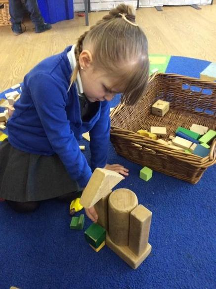 Continuous Provision- Block play
