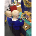 We have been retelling the Nativity story.