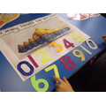 Counting Ravana's 10 heads and ordering the number