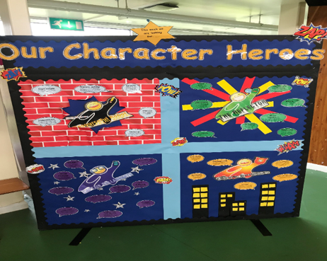 Celebrating character powers supports wellbeing