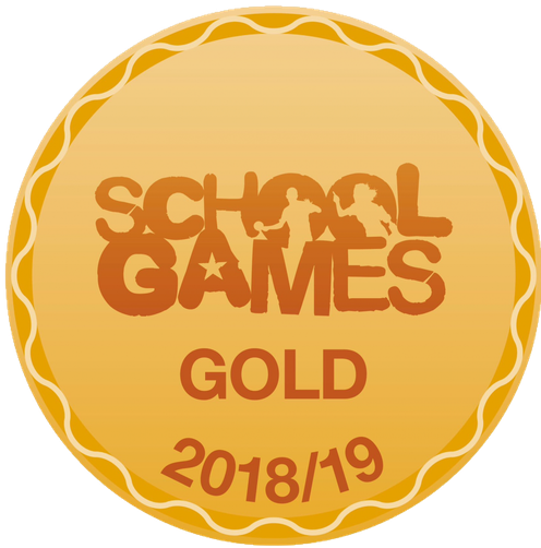 Sept 19: Gold Award for PE and Sports 18-19