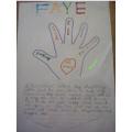 Faye's fantastic kindness work.