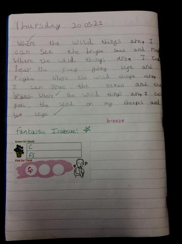 Isabelle - Year 1H