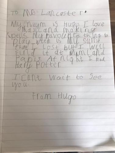 Year 1H - Hugo