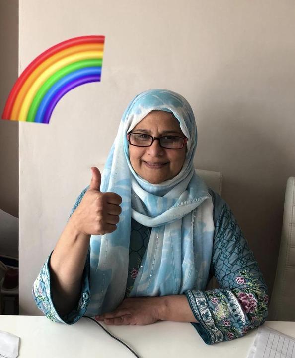 Farida Laeeq - Recepionist