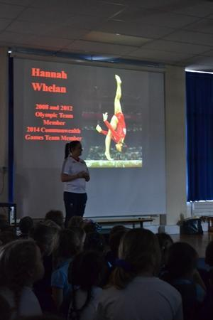 Olympic and Commonwealth Gymnast Hannah Whelan