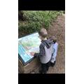 Freddie went to explore gelt woods!