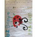 Lenny the ladybird from Harry Nixon.