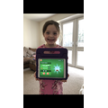Amelia's top score on hit the button was 27!
