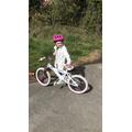 Lola has got a new bike!