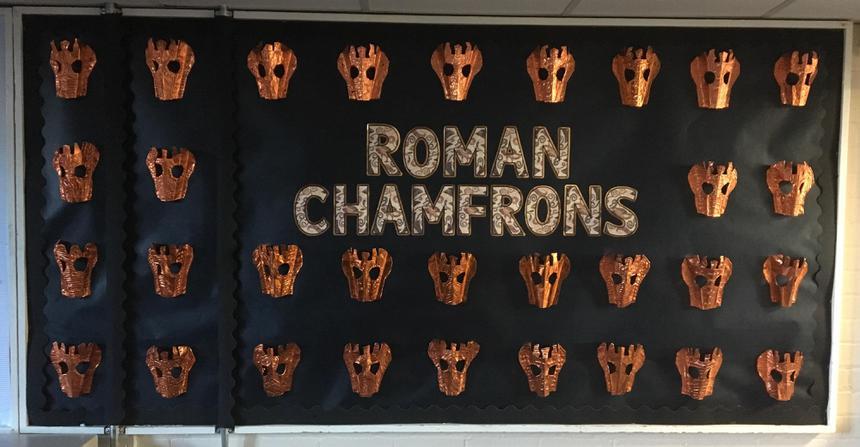 Year 3 Roman Chamfrons
