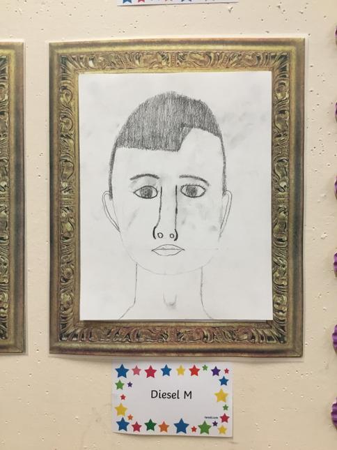 Diesel's superb self portrait.