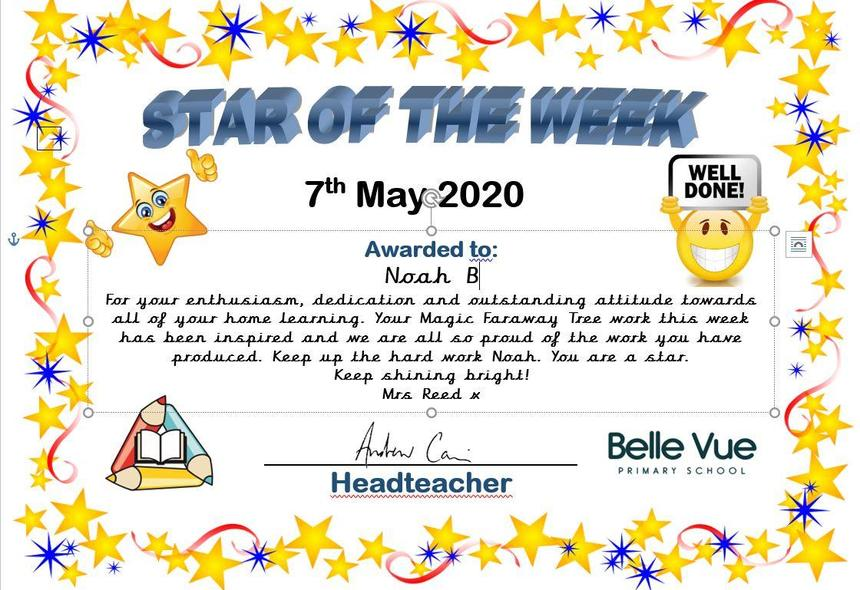 2AR's star of the week - Noah B