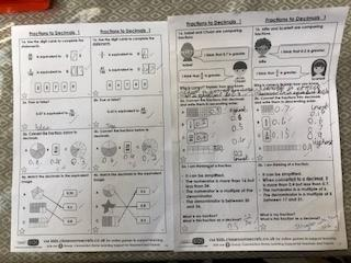 Great maths work from Harry Howe