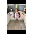 Amelia's super bunting!