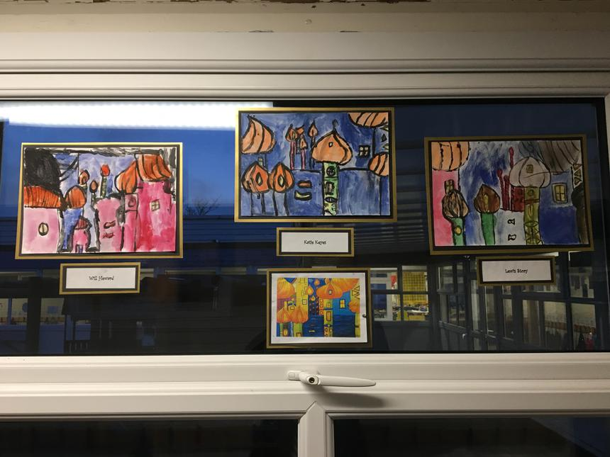 KS1 Art Club Exhibition