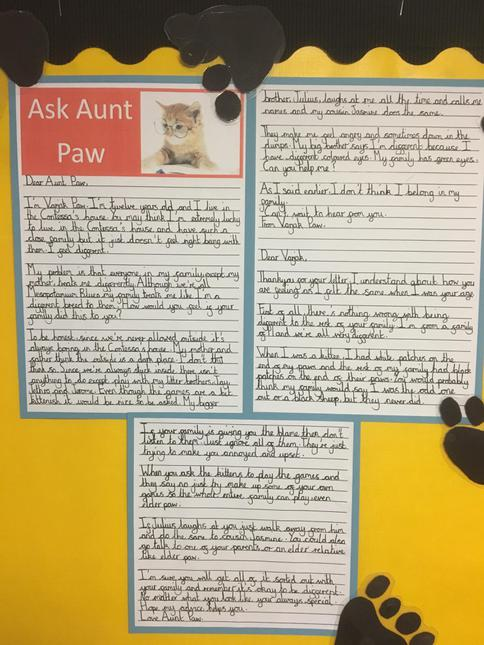 Year 4 Writing - Varjak Paw