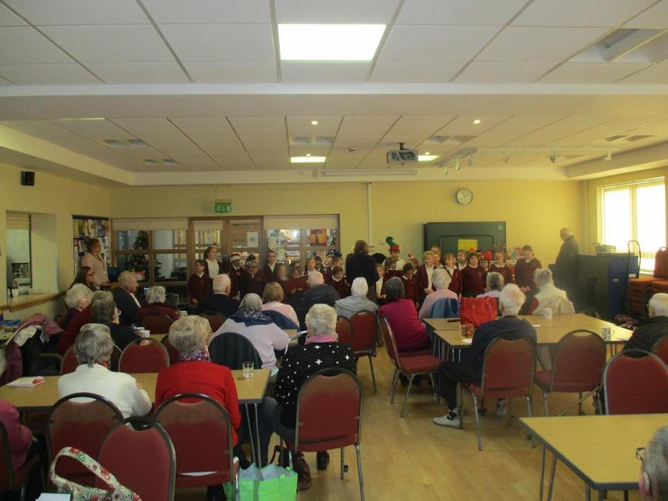 Choir, Friendship Group, Harrowby Methodist Church