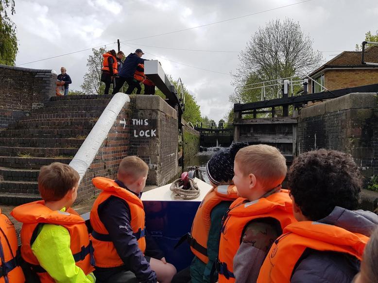 A trip down the canal