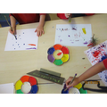 Developing fine motor skills using natural materials