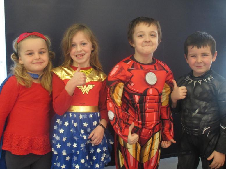 Extraordinary Super Heroes