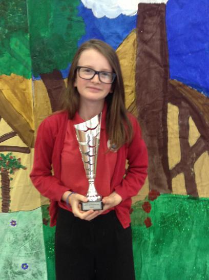 Enterprize Trophy awarded to Cassia
