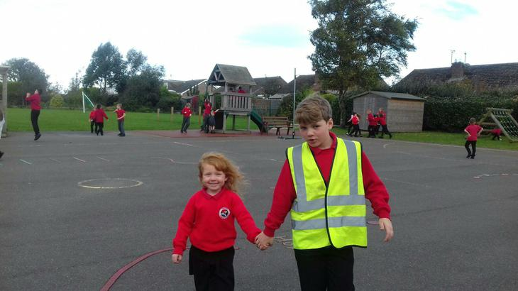 Taking a child to see the First Aider