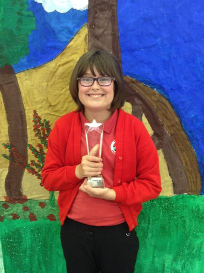 The O'Reilly Reading Trophy awarded to Evie May