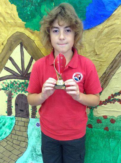 Sportsmanship Trophy awarded to Ben