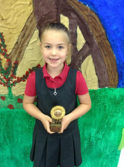 The Gardening Trophy awarded to Grace