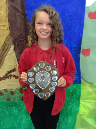 Achievment trophy awarded to Ruby