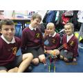 We made a crane