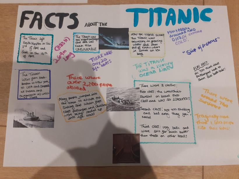 Aoife's Titanic Poster