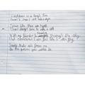 Eiliyah's Lockdown Poem