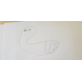 What a lovely swan drawing.